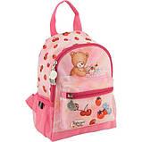 Kite Kids Дошкольный рюкзак Попкорн медведь розовый PO18-534XXS Popcorn Bear, фото 6