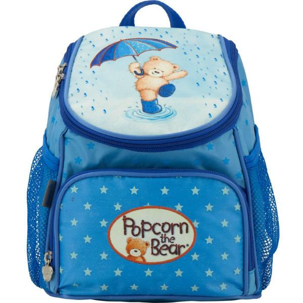 Kite Kids Дошкольный рюкзак Попкорн медведь голубой PO17-535XXS-1 Popcorn Bear