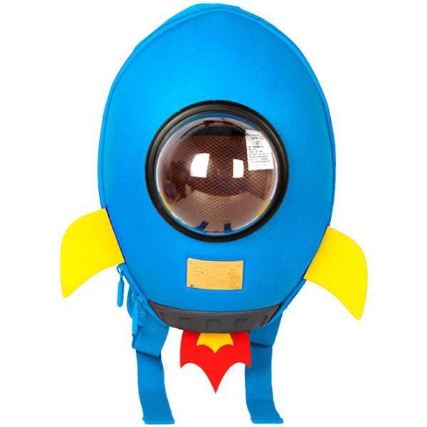 Supercute Дошкольный рюкзак Ракета голубой SF038- с rocket