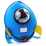 Supercute Дошкольный рюкзак Ракета голубой SF038- с rocket, фото 3