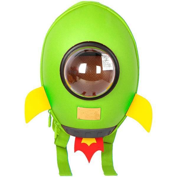 Supercute Дошкольный рюкзак Ракета зеленый SF038- b rocket