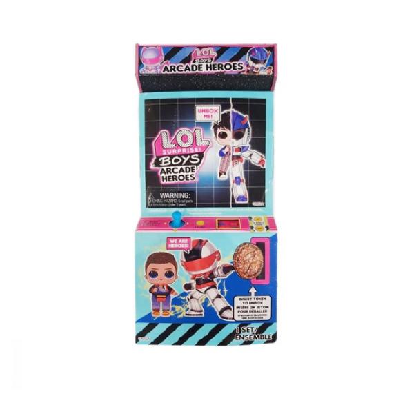 L.O.L. Surprise! Мальчики Космонавты Герои аркады Gear Guy Titanium 569374 Boys Arcade Heroes