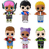 L.O.L. Surprise! Мальчики Космонавты Герои аркады Gear Guy Titanium 569374 Boys Arcade Heroes, фото 5