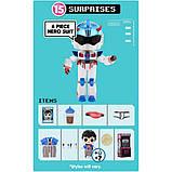 L.O.L. Surprise! Мальчики Космонавты Герои аркады Gear Guy Titanium 569374 Boys Arcade Heroes, фото 6