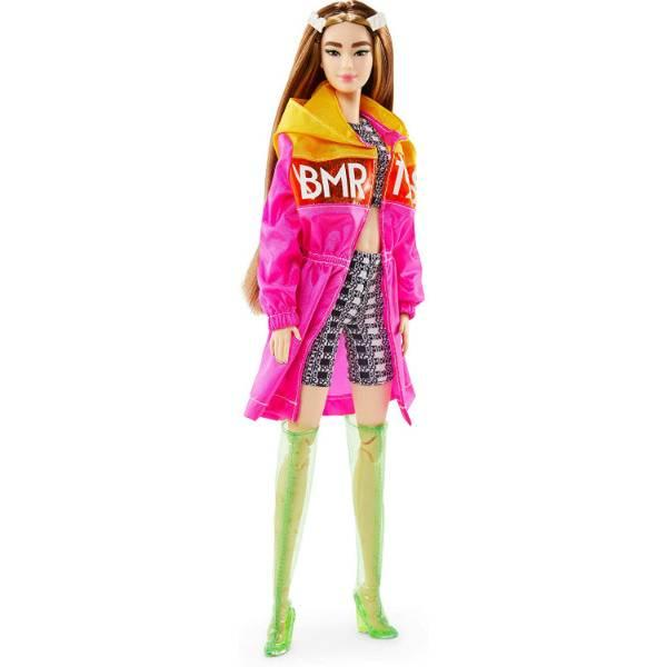Barbie BMR 1959 W2 БМР барби высокая азиатка GPF15 Fully Poseable Fashion Doll Tall Brunette Jacket, Shorts