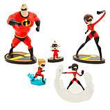 Disney Игровой набор с фигурками Суперсемейка 2 2019 The Incredibles 2 Figure Play Set, фото 3