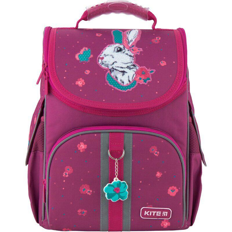 Kite Шкільний каркасний рюкзак зайчик 2020 K20-501S-7 Bunny
