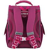 Kite Шкільний каркасний рюкзак зайчик 2020 K20-501S-7 Bunny, фото 5