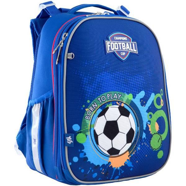 Yes Шкільний каркасний рюкзак Народжений грати у футбол 556183 H-25 Born To Play football