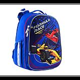 Yes Шкільний каркасний рюкзак Формула Гонки 556185 H-25 Formula Race, фото 4