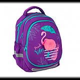 Kite Шкільний рюкзак зі знімною панеллю Красиві тропіки K20-700M Beautiful Tropics, фото 7