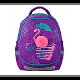Kite Шкільний рюкзак зі знімною панеллю Красиві тропіки K20-700M Beautiful Tropics, фото 9
