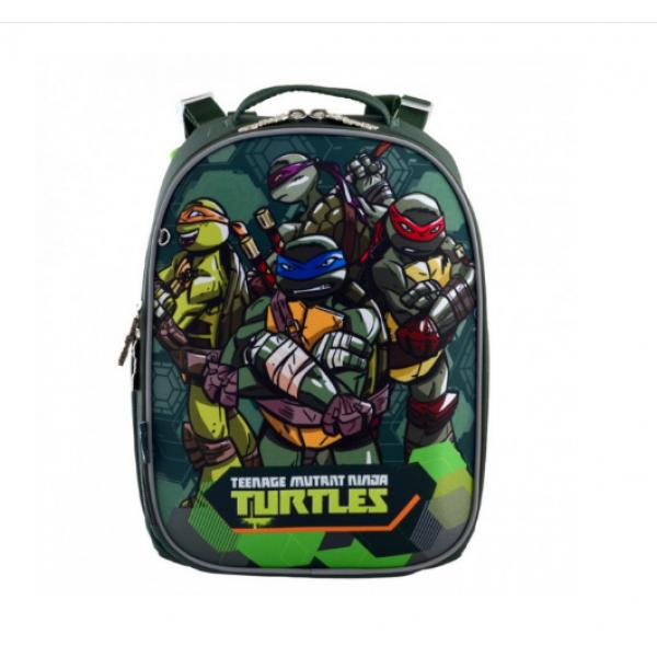 1Вересня Шкільний каркасний рюкзак черепашки ніндзя 556203 H-25 TMNT