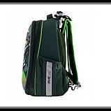 1Вересня Шкільний каркасний рюкзак черепашки ніндзя 556203 H-25 TMNT, фото 3