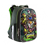 1Вересня Школьный каркасный рюкзак черепашки ниндзя 556203 H-25 TMNT, фото 4