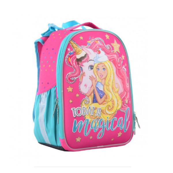 1Вересня Шкільний каркасний рюкзак єдиноріг 555365 H-25 Unicorn