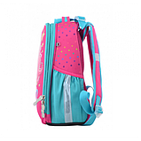 1Вересня Шкільний каркасний рюкзак єдиноріг 555365 H-25 Unicorn, фото 2