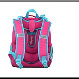 1Вересня Шкільний каркасний рюкзак єдиноріг 555365 H-25 Unicorn, фото 3