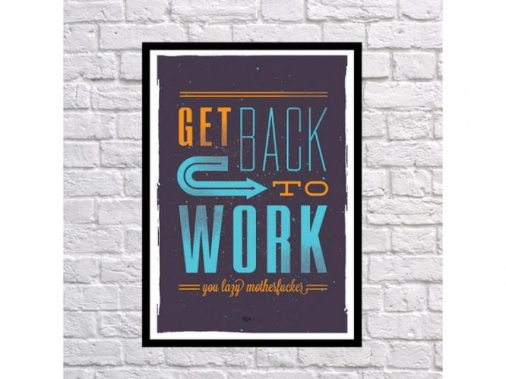 Постер Back to Work