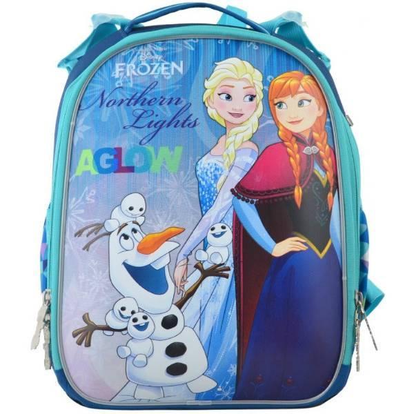 1Вересня Школьный каркасный рюкзак Холодное сердце Северное сияние 555362 H-25 frozen northern lights aglow
