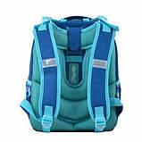 1Вересня Школьный каркасный рюкзак Холодное сердце Северное сияние 555362 H-25 frozen northern lights aglow, фото 3