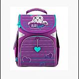 GoPack Школьный каркасный рюкзак Забавный кот go20-5001s-5 Funny cat, фото 3