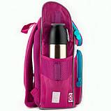 GoPack Шкільний каркасний рюкзак Маленька принцеса go20-5001s-3 Little princess, фото 5