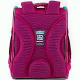 GoPack Шкільний каркасний рюкзак Маленька принцеса go20-5001s-3 Little princess, фото 6