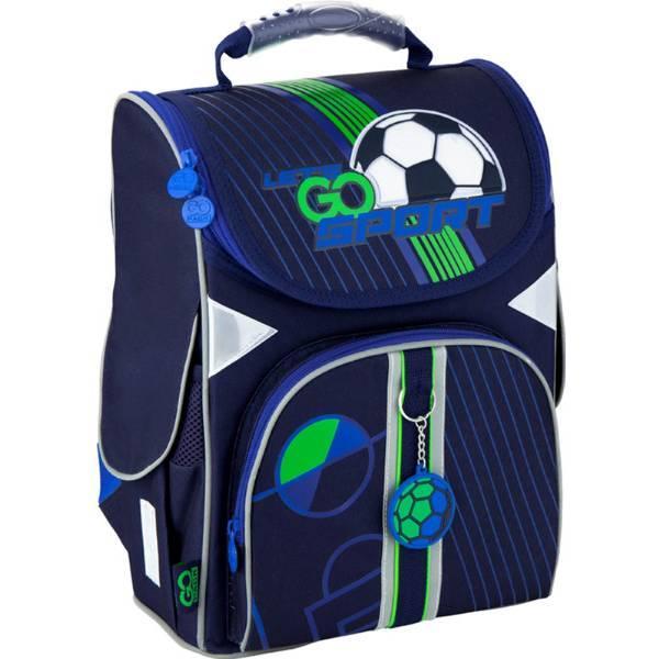 GoPack Школьный каркасный рюкзак Футбол go20-5001s-10 Football