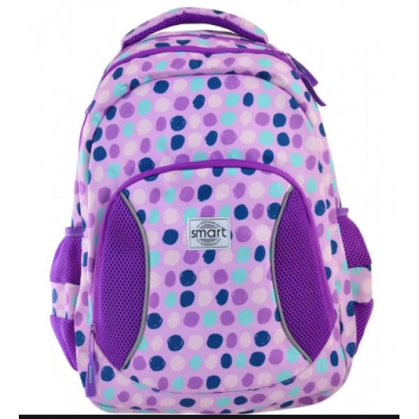 Smart Школьный рюкзак Фиолетовые пятна 557079 SG-25 Violet Spots
