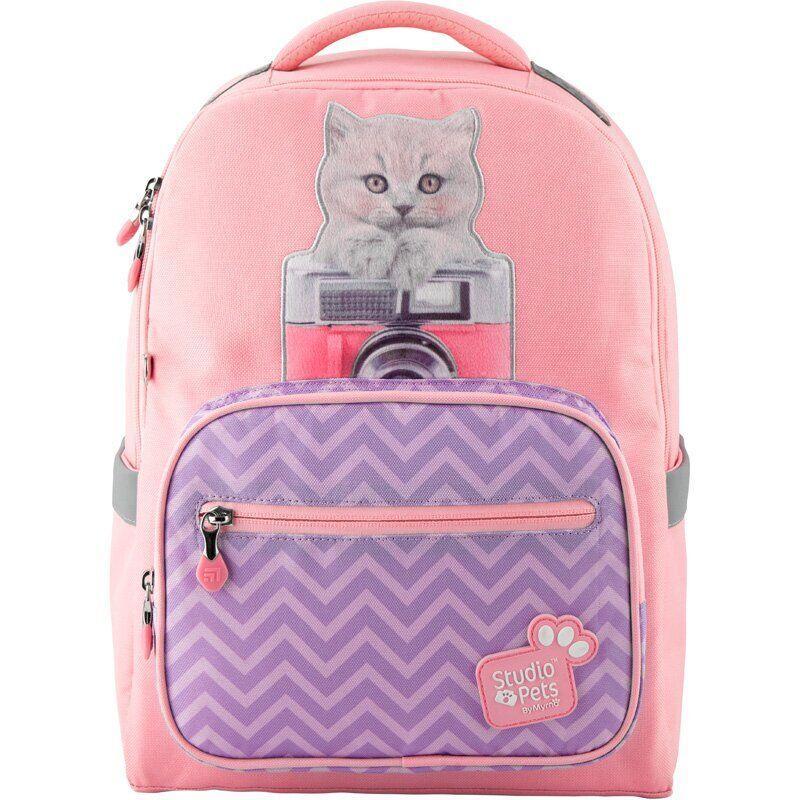 Kite Kids Школьный рюкзак Студия домашних животных котенок 2020 SP20-770M Studio Pets