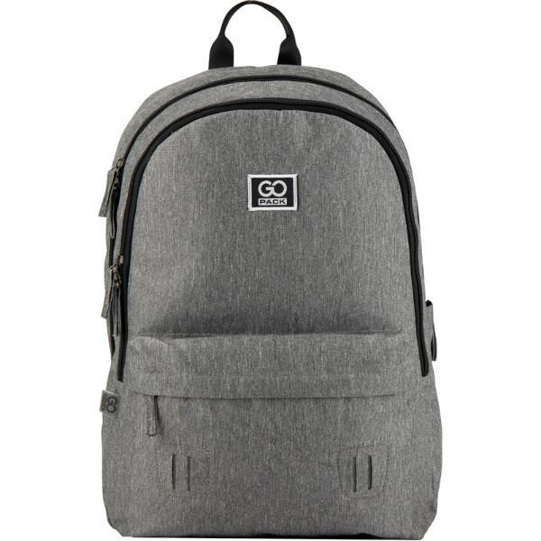 GoPack Молодежный прогулочный рюкзак серый Go20-140l-2 Сity grey