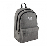 GoPack Молодежный прогулочный рюкзак серый Go20-140l-2 Сity grey, фото 2