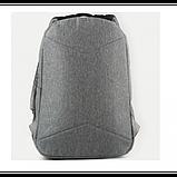 GoPack Молодежный прогулочный рюкзак серый Go20-140l-2 Сity grey, фото 4