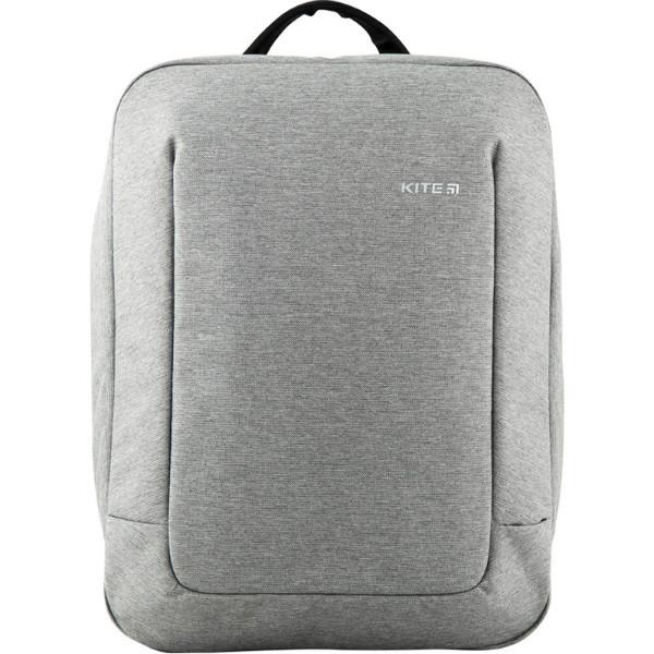 Kite Молодежный городской прогулочный рюкзак серый 2020 K20-2514M-2 Сity