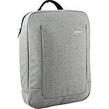 Kite Молодежный городской прогулочный рюкзак серый 2020 K20-2514M-2 Сity, фото 4