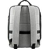 Kite Молодежный городской прогулочный рюкзак серый 2020 K20-2514M-2 Сity, фото 5