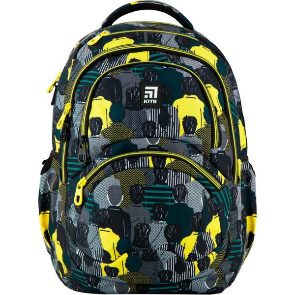Kite Kids Молодіжний міський прогулянковий шкільний рюкзак люди 2020 K20-2563L-2 Education Be cool Be original