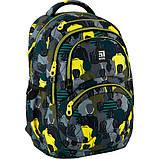 Kite Kids Молодіжний міський прогулянковий шкільний рюкзак люди 2020 K20-2563L-2 Education Be cool Be original, фото 5