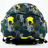 Kite Kids Молодіжний міський прогулянковий шкільний рюкзак люди 2020 K20-2563L-2 Education Be cool Be original, фото 6