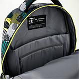 Kite Kids Молодіжний міський прогулянковий шкільний рюкзак люди 2020 K20-2563L-2 Education Be cool Be original, фото 8