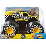 Hot Wheels Monster Trucks Внедорожник джип Такси 1:24 Scale GJG77 taxi Monster Jam die-cast, фото 2