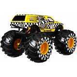 Hot Wheels Monster Trucks Внедорожник джип Такси 1:24 Scale GJG77 taxi Monster Jam die-cast, фото 3