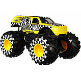 Hot Wheels Monster Trucks Внедорожник джип Такси 1:24 Scale GJG77 taxi Monster Jam die-cast, фото 4