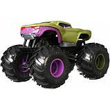 Hot Wheels Monster Trucks Внедорожник джип Халк 1:24 Scale GJG69 marvel hulk Monster Jam die-cast, фото 4