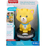 Fisher-Price Смейся и учись догони котенка GJW35 Laugh Learn Crawl-After Cat on a Vac Musical Baby Toy, фото 5