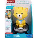 Fisher-Price Смійся і навчайся наздожени кошеня GJW35 Laugh Learn Crawl-After Cat on a Vac Musical Baby Toy, фото 5