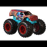Hot Wheels Monster trucks Набор внедорожников 1:64 Scale GJF66 Raijyu vs. Koumori gigant wheels, фото 2