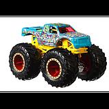 Hot Wheels Monster trucks Набор внедорожников 1:64 Scale GJF66 Raijyu vs. Koumori gigant wheels, фото 4