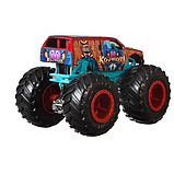 Hot Wheels Monster trucks Набор внедорожников 1:64 Scale GJF66 Raijyu vs. Koumori gigant wheels, фото 6
